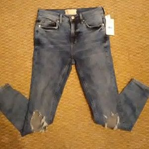 Nwt free people jeans size 26